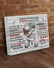 Never Feel That You Are Alone Dad To Daughter 14x11 Gallery Wrapped Canvas Prints aos-canvas-pgw-14x11-lifestyle-front-09