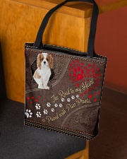 Cavalier-King-Charles-Spaniel-dog-road-to-heart All-over Tote aos-all-over-tote-lifestyle-front-02