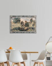 When Everything Goes To Hell Veteran 24x16 Gallery Wrapped Canvas Prints aos-canvas-pgw-24x16-lifestyle-front-20