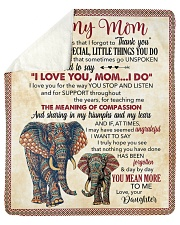 Thanks 4All The Special Little Things U Do-For Mom Sherpa Fleece Blanket tile