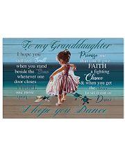 I Hope U Still Feel Small Grandma To Granddaughter Horizontal Poster tile