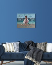 I Hope U Still Feel Small Grandma To Granddaughter 14x11 Gallery Wrapped Canvas Prints aos-canvas-pgw-14x11-lifestyle-front-06