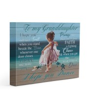 I Hope U Still Feel Small Grandma To Granddaughter 14x11 Gallery Wrapped Canvas Prints front