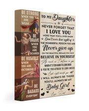 Never Forget That I Love U Dad To Daughter Gallery Wrapped Canvas Prints tile