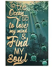 To The Ocean I Go To Lose My Mind 11x17 Poster front