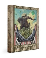 It Takes A Special Person Veteran 11x14 Gallery Wrapped Canvas Prints front