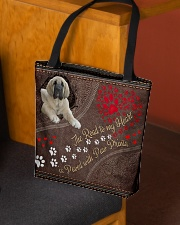 Spanish-Mastiff-dog-the-road-to-my-heart All-over Tote aos-all-over-tote-lifestyle-front-02