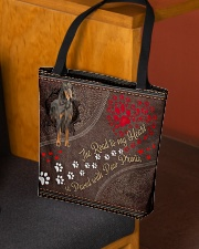 Gordon-Setter-dog-the-road-to-my-heart All-over Tote aos-all-over-tote-lifestyle-front-02