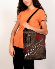 Gordon-Setter-dog-the-road-to-my-heart All-over Tote aos-all-over-tote-lifestyle-front-07
