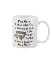 Personalized Name Boss Like You Is Harder to find Mug front