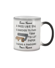 Personalized Name Boss Like You Is Harder to find Color Changing Mug thumbnail