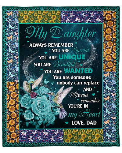Daughter Always Remember You're In My Heart