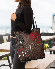 French-Bulldog-dog-the-road-to-my-heart All-over Tote aos-all-over-tote-lifestyle-front-04