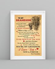 Grandson Elephant I love You Now And Forever 11x17 Poster lifestyle-poster-5