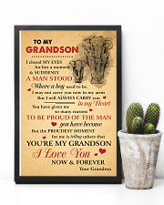 Grandson Elephant I love You Now And Forever 11x17 Poster lifestyle-poster-8