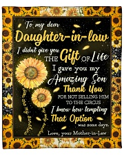 "To My Daughter-In-Law I Gave You My Amazing Son Fleece Blanket - 50"" x 60"" thumbnail"