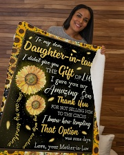 "To My Daughter-In-Law I Gave You My Amazing Son Sherpa Fleece Blanket - 50"" x 60"" aos-sherpa-fleece-blanket-50x60-lifestyle-front-09b"
