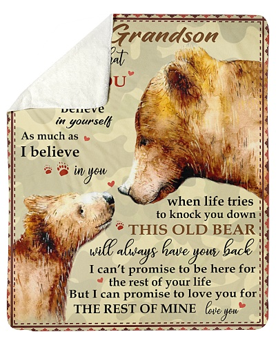 To My Grandson Promise Love U For The Rest Of Mine