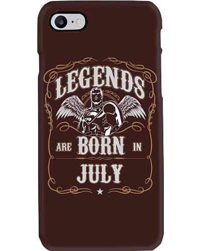 Legend are born in july