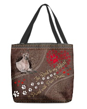 Mexican-Hairless-Dog-dog-the-road-to-my-heart All-over Tote back