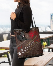Cane-Corso-dog-the-road-to-my-heart All-over Tote aos-all-over-tote-lifestyle-front-04