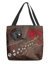Cane-Corso-dog-the-road-to-my-heart All-over Tote front
