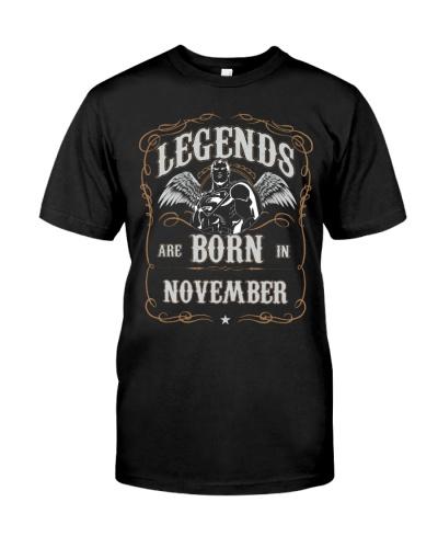 Legend are born in november