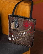 Belgian-Malinois-dog-the-road-to-my-heart All-over Tote aos-all-over-tote-lifestyle-front-02