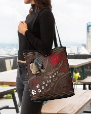 Belgian-Malinois-dog-the-road-to-my-heart All-over Tote aos-all-over-tote-lifestyle-front-04