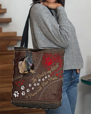 Belgian-Malinois-dog-the-road-to-my-heart All-over Tote aos-all-over-tote-lifestyle-front-09