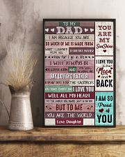 Dad Thanks 4The Sacrifices U Make Every Day ILoveU 11x17 Poster lifestyle-poster-3