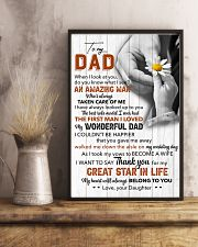 Thanks For My Great Star In Life - For Dad 11x17 Poster lifestyle-poster-3