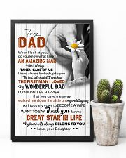 Thanks For My Great Star In Life - For Dad 11x17 Poster lifestyle-poster-8