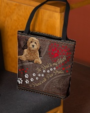Labradoodle-dog-the-road-to-my-heart All-over Tote aos-all-over-tote-lifestyle-front-02