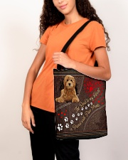 Labradoodle-dog-the-road-to-my-heart All-over Tote aos-all-over-tote-lifestyle-front-07