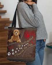 Labradoodle-dog-the-road-to-my-heart All-over Tote aos-all-over-tote-lifestyle-front-09