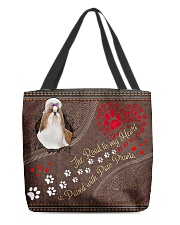 ShihTzu-dog-the-road-to-my-heart All-over Tote back