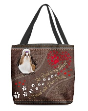 ShihTzu-dog-the-road-to-my-heart All-over Tote front
