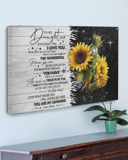 Never Forget That I Love U Mom To Daughter 30x20 Gallery Wrapped Canvas Prints aos-canvas-pgw-30x20-lifestyle-front-01