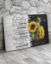 Never Forget That I Love U Mom To Daughter 30x20 Gallery Wrapped Canvas Prints aos-canvas-pgw-30x20-lifestyle-front-13
