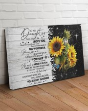 Never Forget That I Love U Mom To Daughter 30x20 Gallery Wrapped Canvas Prints aos-canvas-pgw-30x20-lifestyle-front-14