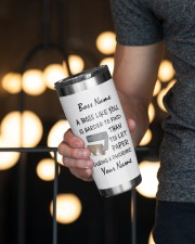 Personalized Name Best Boss ever Harder to find 20oz Tumbler aos-20oz-tumbler-lifestyle-front-19