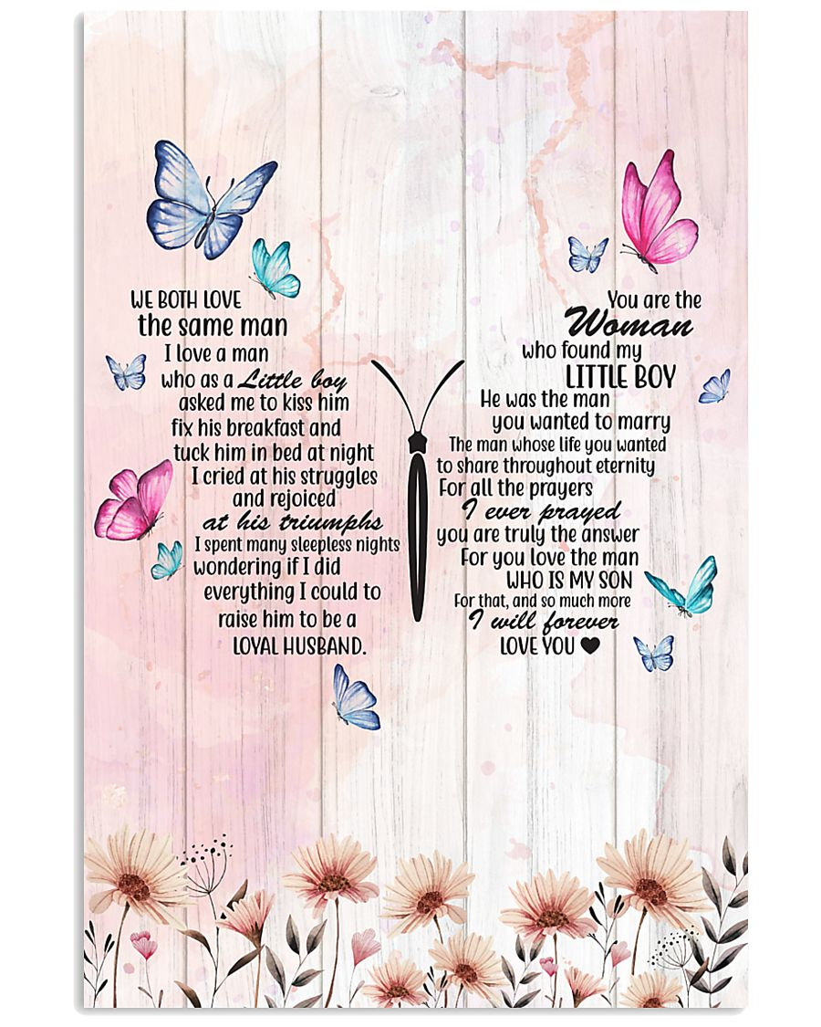 DIL Butterfly So Much More I'll Forever Love You 11x17 Poster