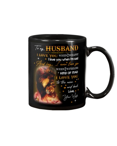 Husband Lion I Love You To The Moon And Back