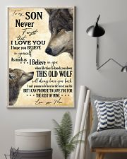 To My Son Never Forget That I Love You 11x17 Poster lifestyle-poster-1