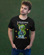 Dragon Vegeta Legends are born in June Classic T-Shirt apparel-classic-tshirt-lifestyle-front-43