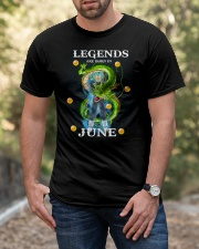 Dragon Vegeta Legends are born in June Classic T-Shirt apparel-classic-tshirt-lifestyle-front-53