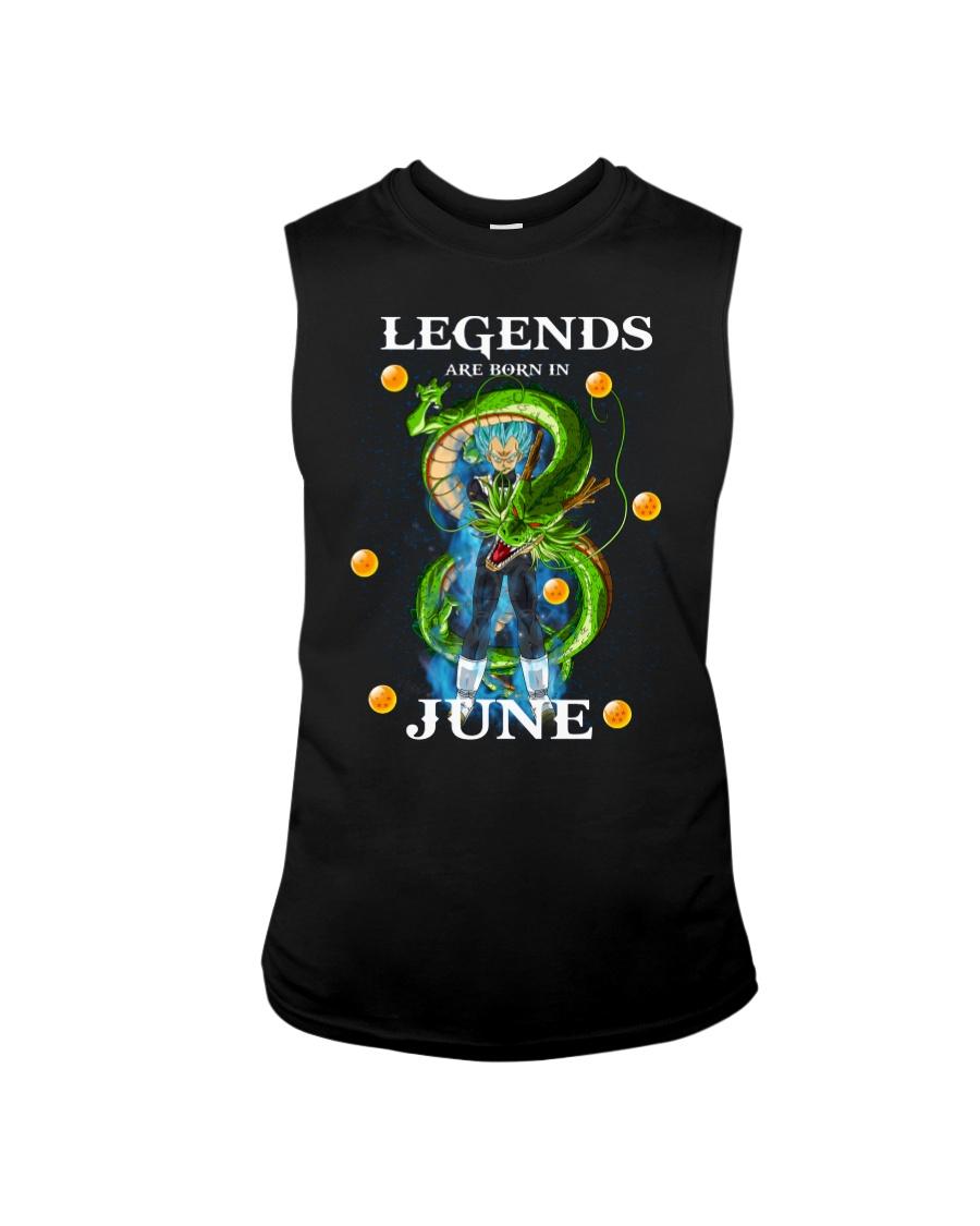 Dragon Vegeta Legends are born in June Sleeveless Tee