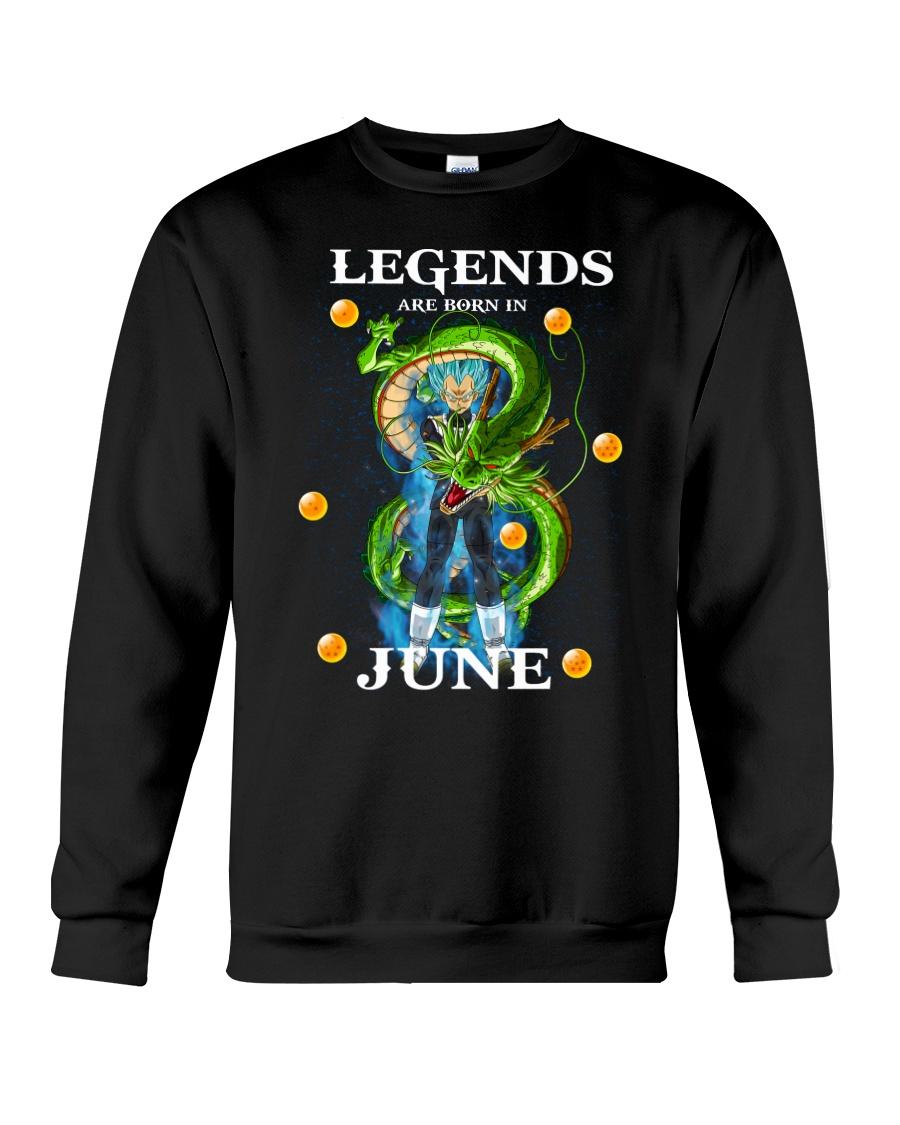 Dragon Vegeta Legends are born in June Crewneck Sweatshirt