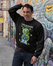 Dragon Vegeta Legends are born in June Crewneck Sweatshirt lifestyle-unisex-sweatshirt-front-4